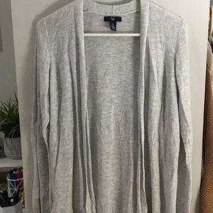 Gap grey cardigan sweater